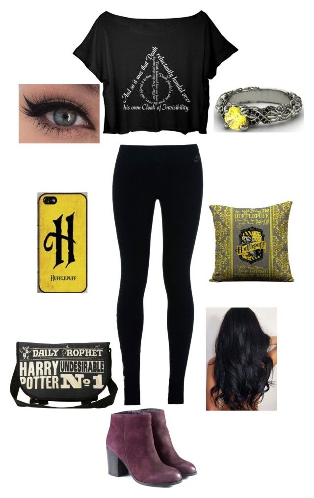 """""""Harry Potter"""" by bsalvinski6364 on Polyvore featuring NIKE"""