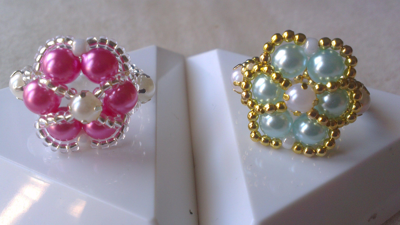 anillos perla en color pastel youtube bagues. Black Bedroom Furniture Sets. Home Design Ideas