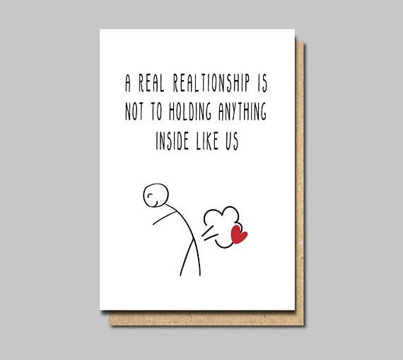 Card For Boyfriend Funny Love Card Funny Anniversary Card Funny Love Cards Funny Anniversary Cards Funniest Valentines Cards