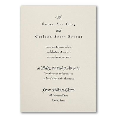 Relaxed Affections Invitation Invitations Wedding Invitations Wedding Invitation Prices
