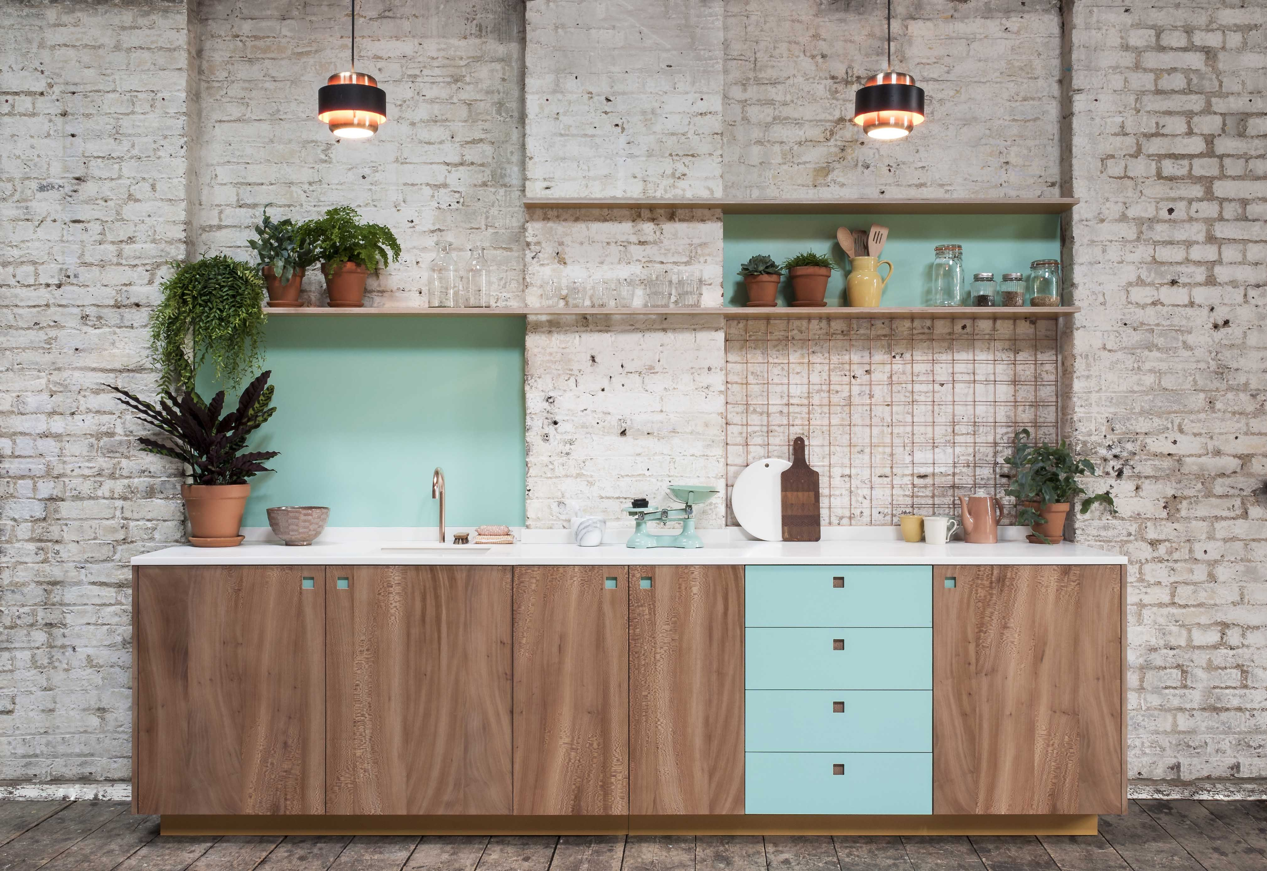 Brixton east london plane lido laminate modernkitchen