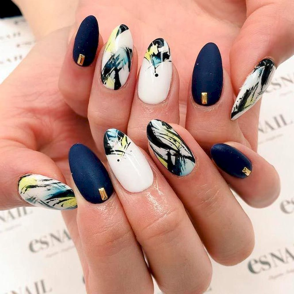 72 New Acrylic Nail Designs Ideas to Try This Year | Acrylic nail ...