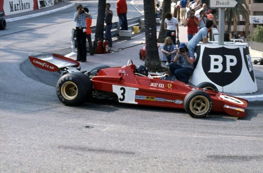 Ickx, Ferrari 312B3, 1973 Monaco