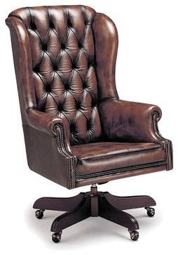 Chesterfield Office Swivels Traditional Task Chairs Office Chair