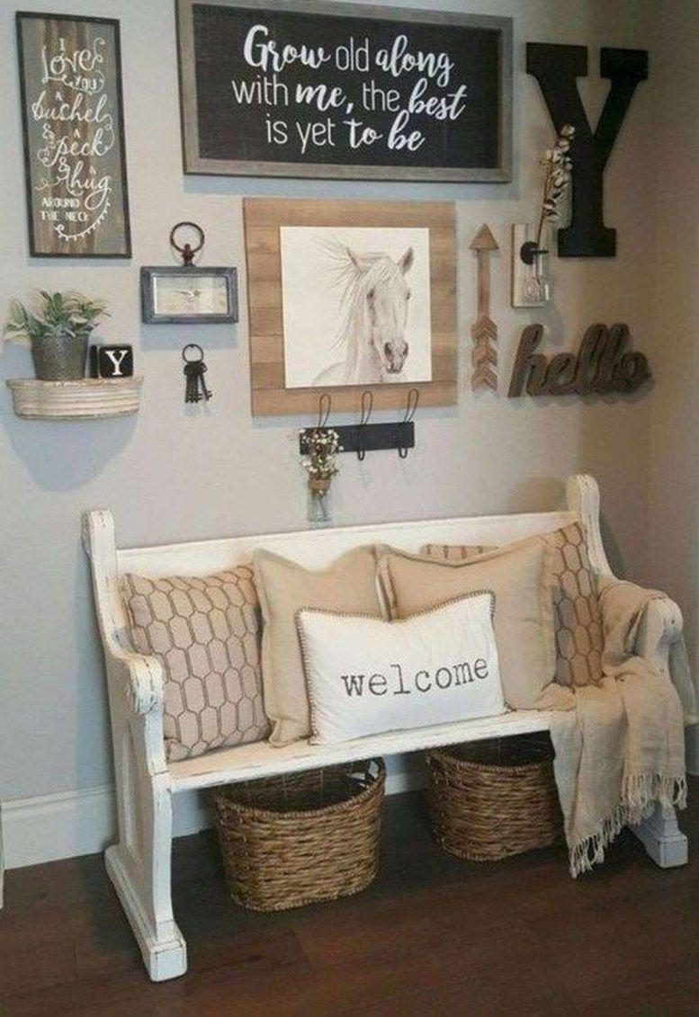 brilliant farmhouse living room wall decor ideas 46 wall decor in rh pinterest com