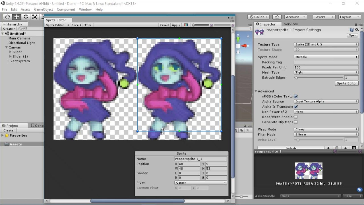 Beginner] Unity Sprite Animations for 2D and UI | Unity