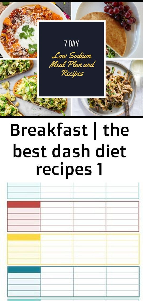 Breakfast | The Best Dash Diet Recipes  How to lose weight and get fit...FOREVER!  This strength tra...