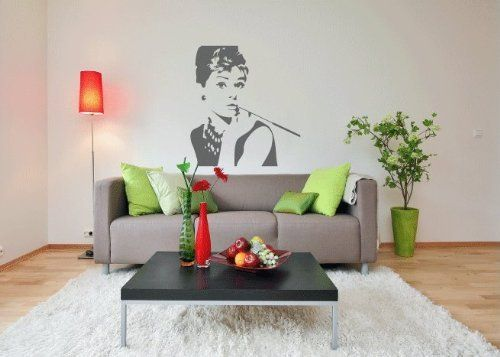 Audrey Hepburn Breakfast At Tiffanys Vinyl Wall Decal Sticker Graphic Mural By LKS Trading Post by LKS Trading Post, http://www.amazon.com/dp/B003H4647O/ref=cm_sw_r_pi_dp_LHOUpb06JPYQD