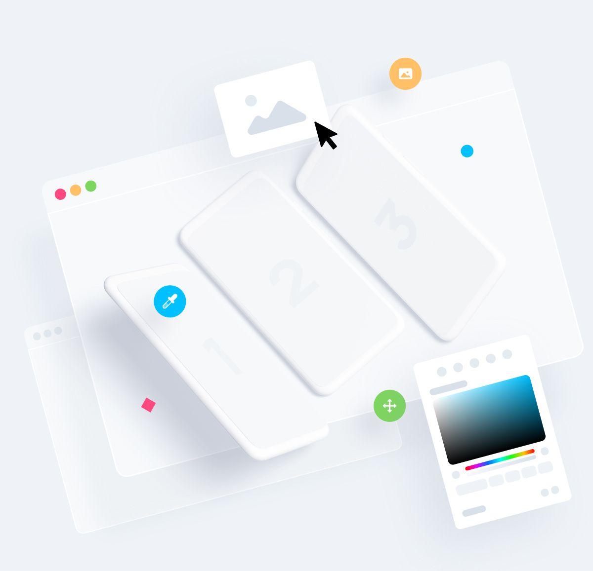 Clay Mockups Graphic Design Freebies Design Freebie Device Mockup