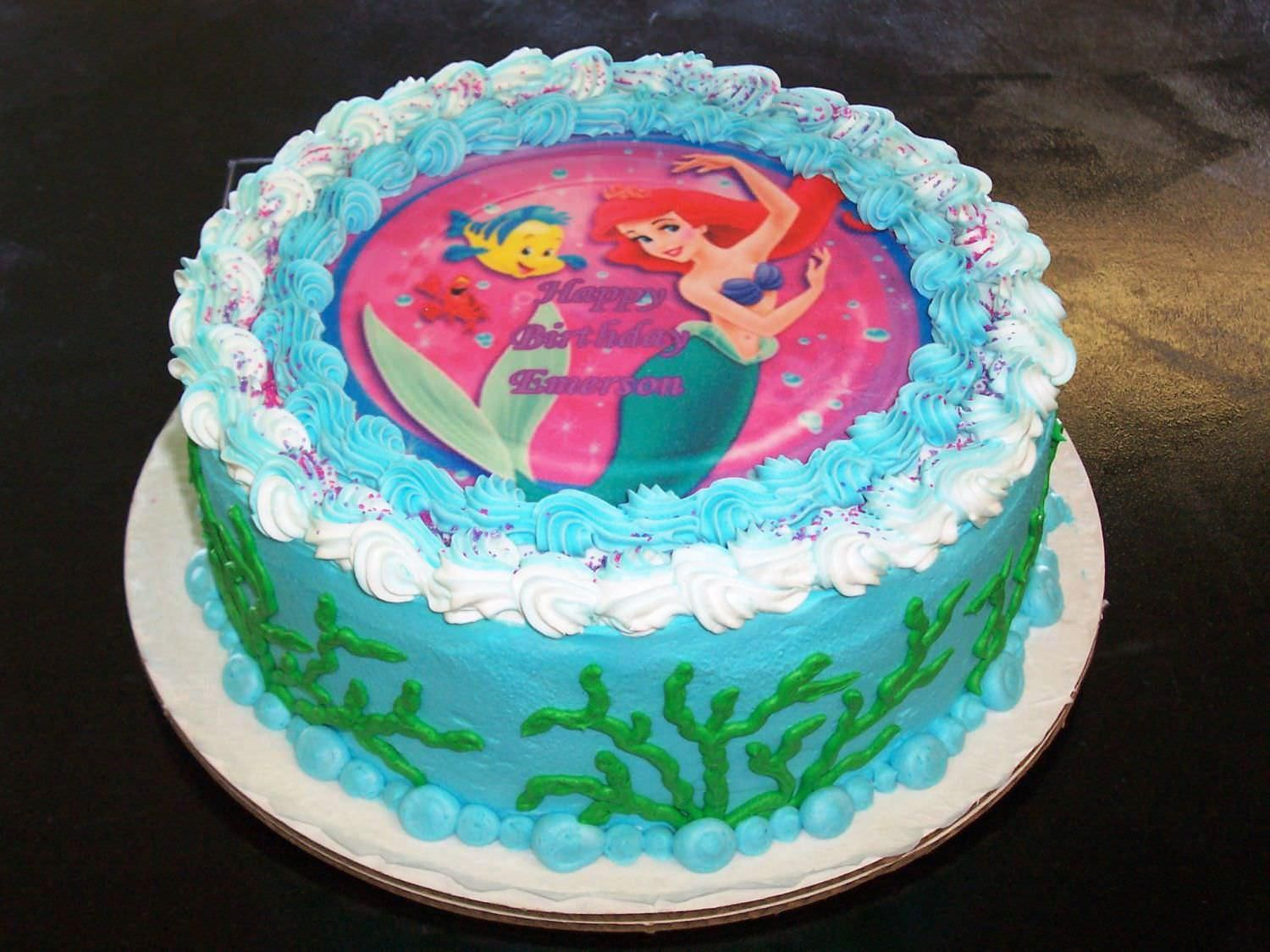 Image result for little mermaid cake Hamid Pinterest Mermaid