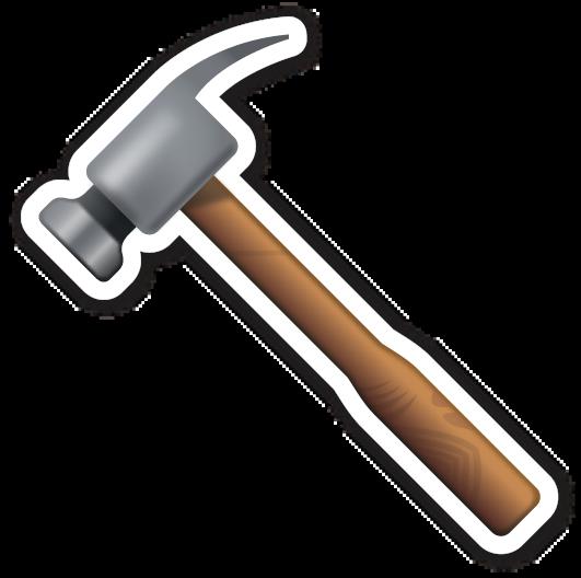 Hammer Bolo De Ferramentas Aniversario Da Construcao Bolo Com Plaquinhas