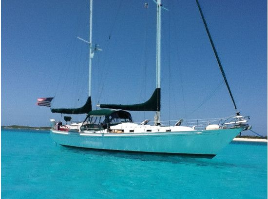 Sailboats In The Caribbean: The Boat: 1980 Whitby 42 Ketch S/V Mary Christine A