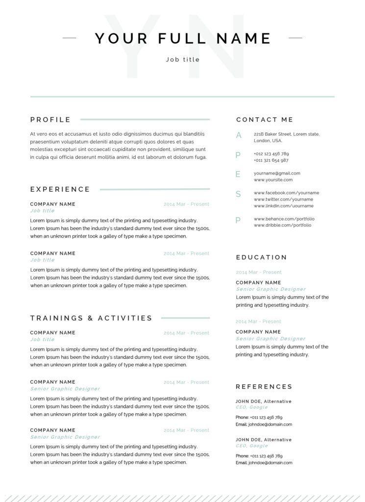 Retail | Cv examples, Writing a cv, Work experience cv