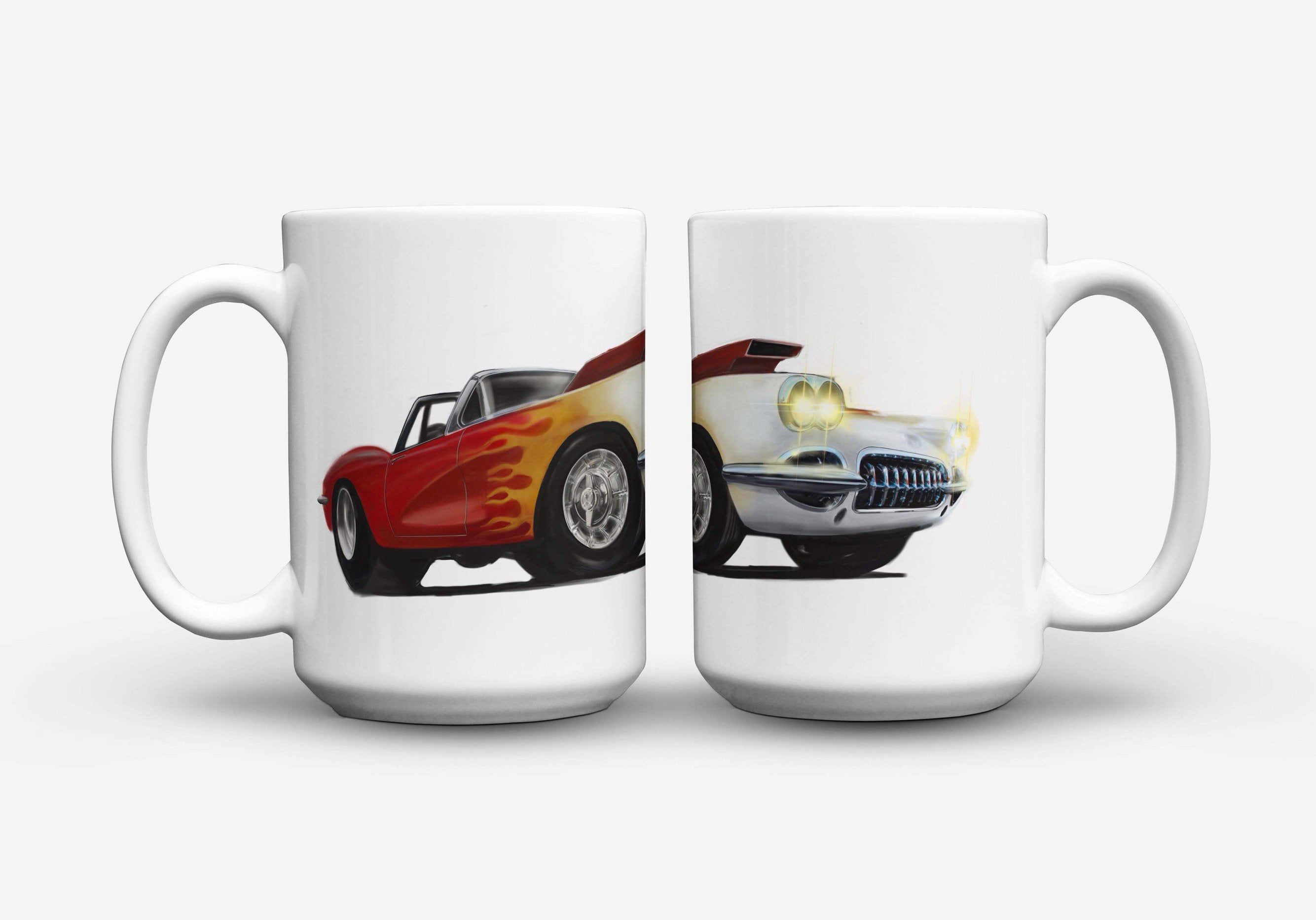 Car Mug Corvette Car Car Lover Gift Personalized Mug