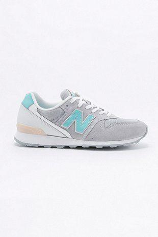 cee00a65141196 New Balance - Baskets 996 grises et turquoise