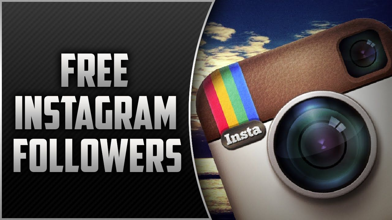 How to get more instagram followers for free 1 email