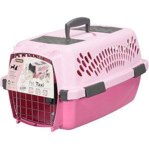Dosckocil Pet Taxi 1 7 L X 1 6 W X 10 H Pink Walmart Com Pet Taxi Pet Travel Carrier Small Pets