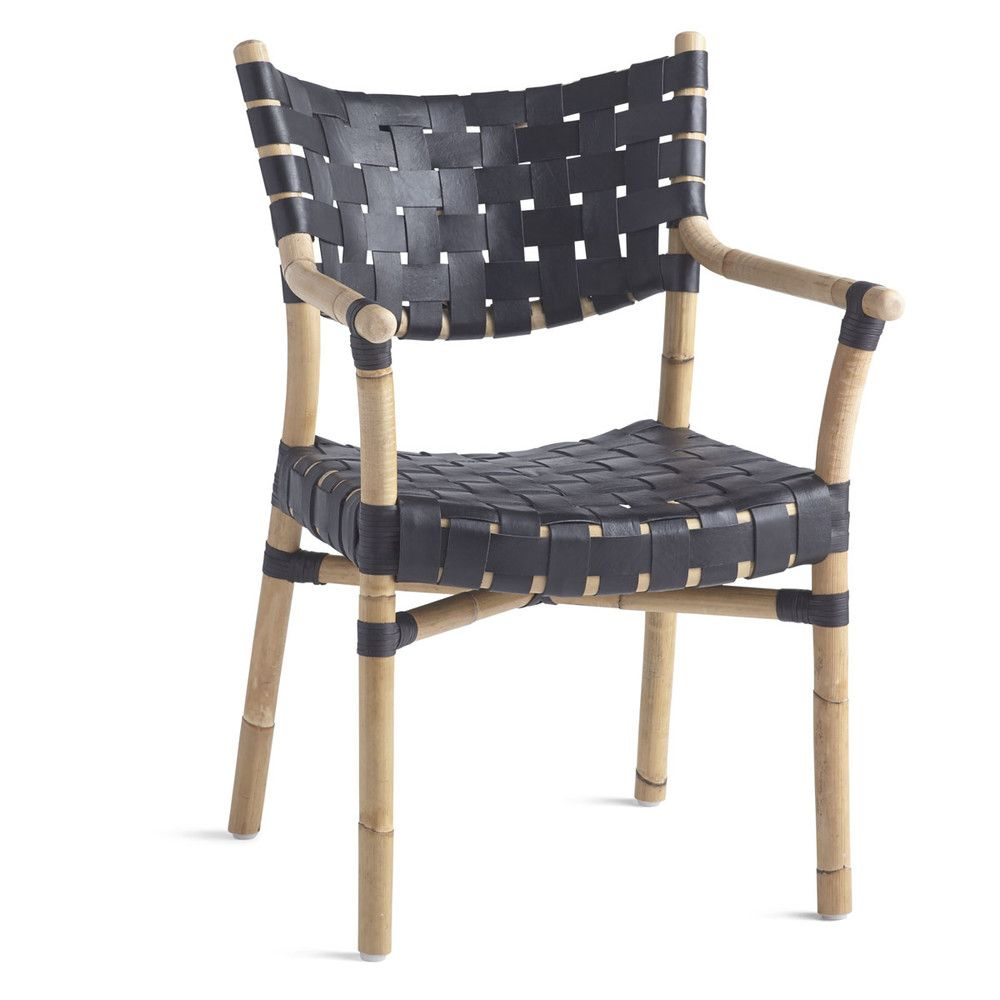 canyon leather and rattan chair furniture i love leather dining rh pinterest com