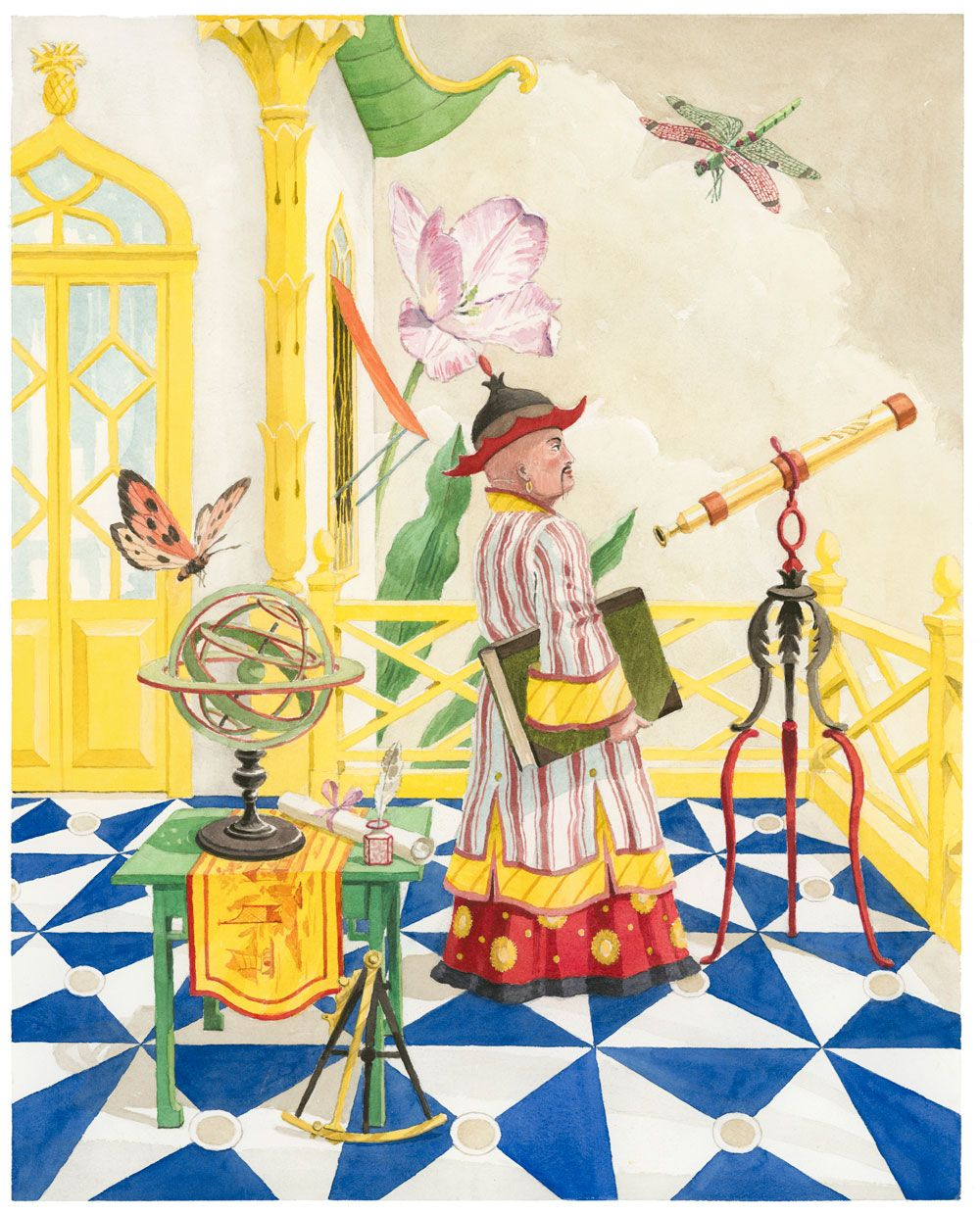 Harrison Howard, Chinoiseries: The Observatory | Chinoiserie Forever ...