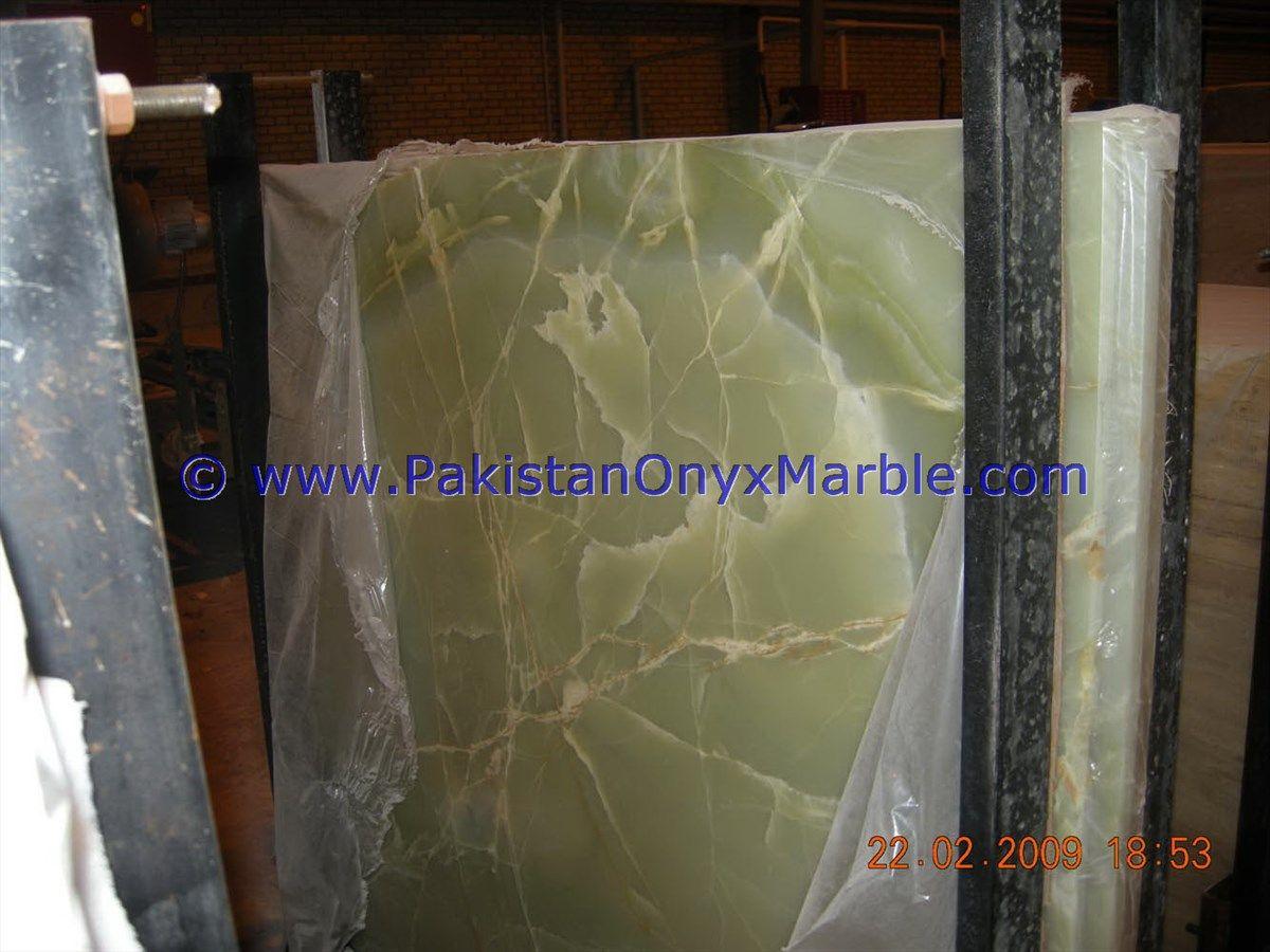 Afghan Jade Onyx Slabs Pure Green Onyx Slabs Afghanistan Emerald