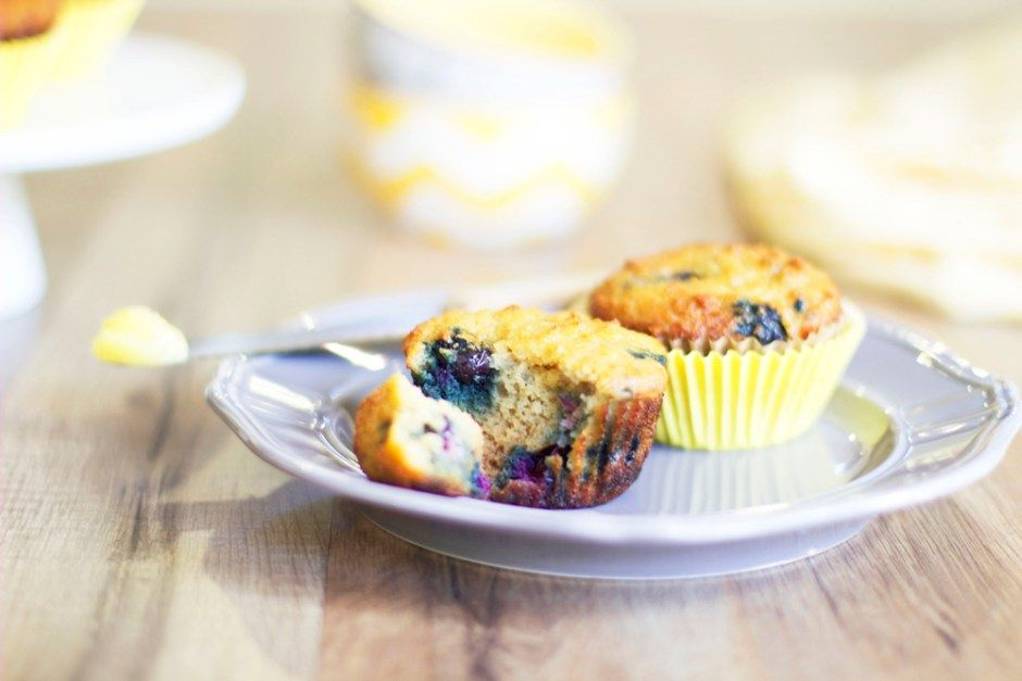 Paleo Blueberry Muffins - Living Loving Paleo