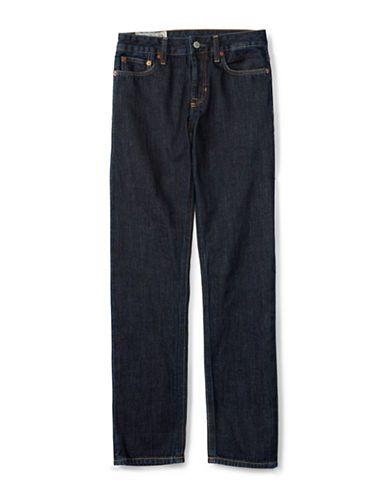Ralph Lauren Childrenswear Boys 8-20 Twill Skinny Jeans  Blue 10