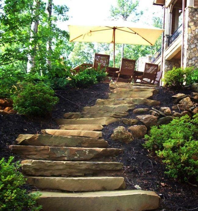 Best Stone Slab Steps Landscape Steps Natural Stone Pavers 400 x 300