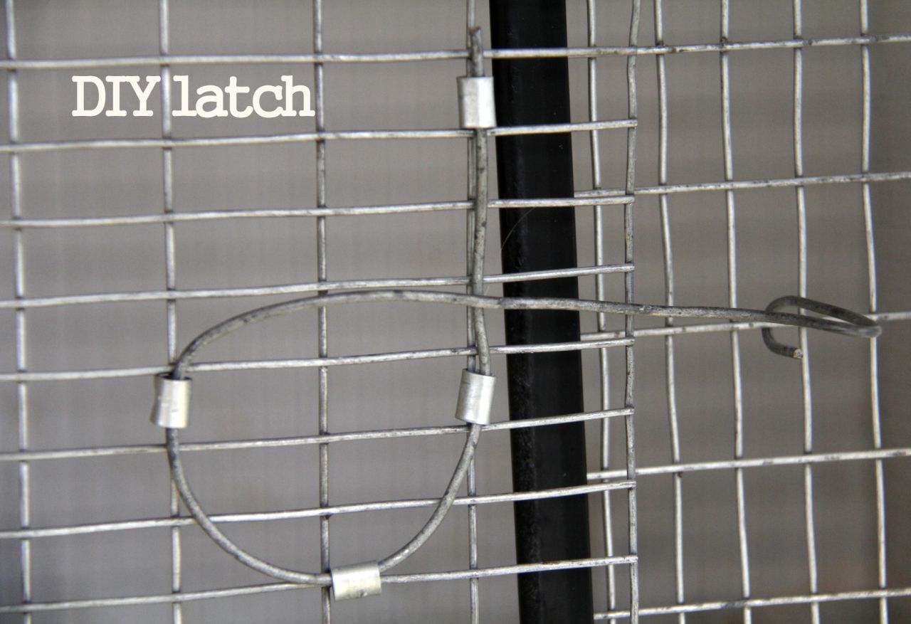 Wire Latch Diy Diy Latch Closure Cage Latch Cage