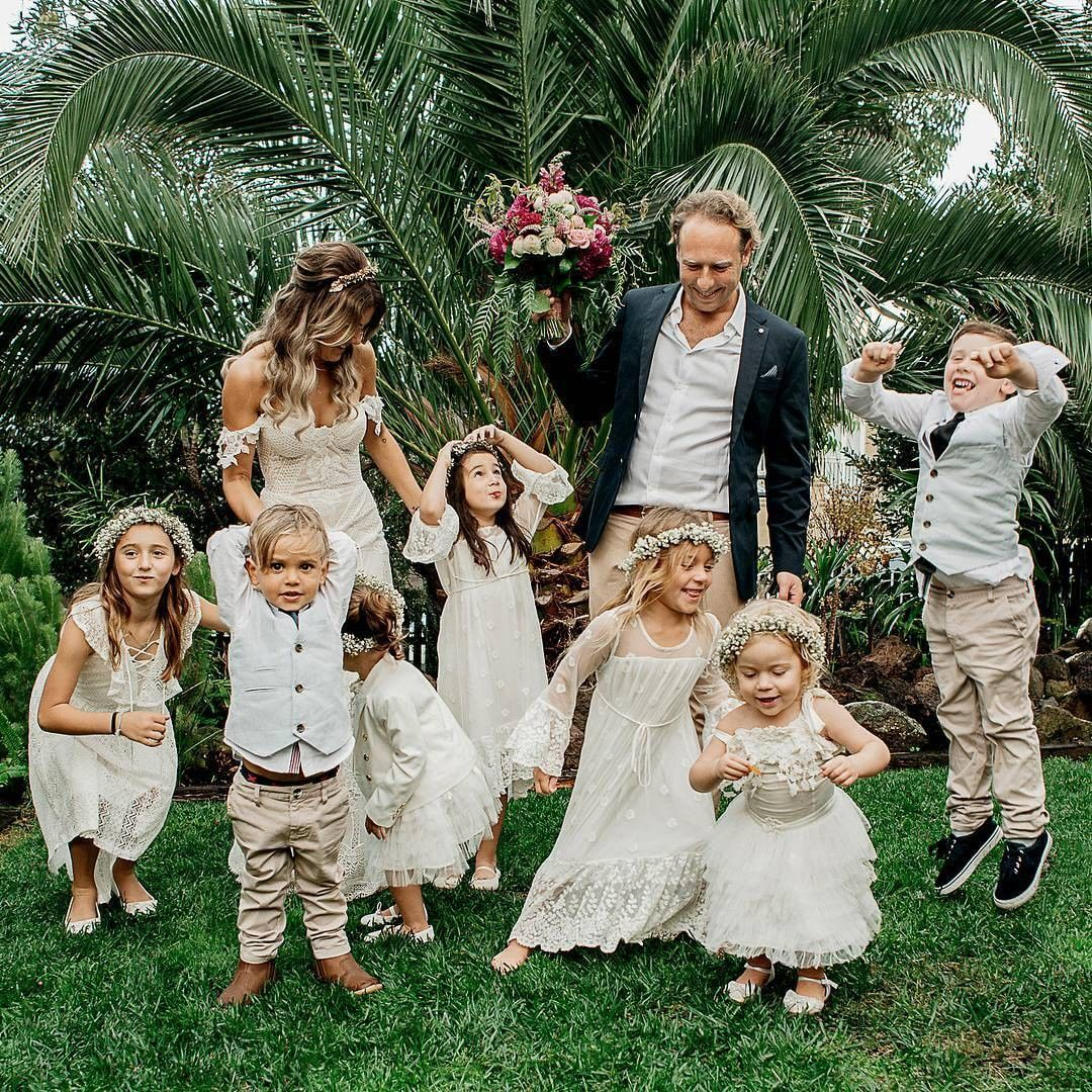 fall bridal party pictures%0A How many little ones will you have in your bridal party