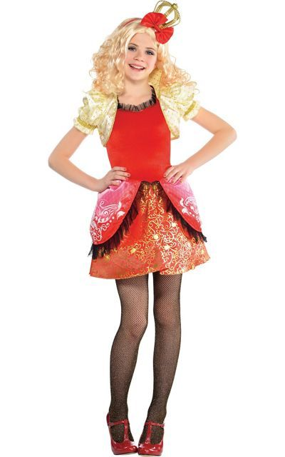 Girls Apple White Costume Supreme - Ever After High - Party City ...