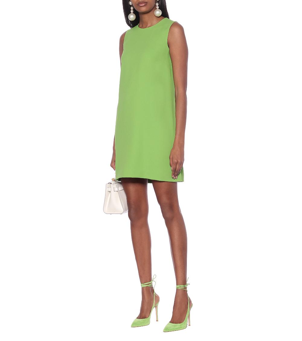 Dolce Gabbana Cady Shift Dress Mytheresa Shift Dress Summer Shift Dress Green Shift Dress [ 1130 x 1000 Pixel ]