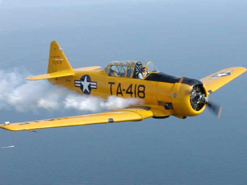 list Vintage aircraft