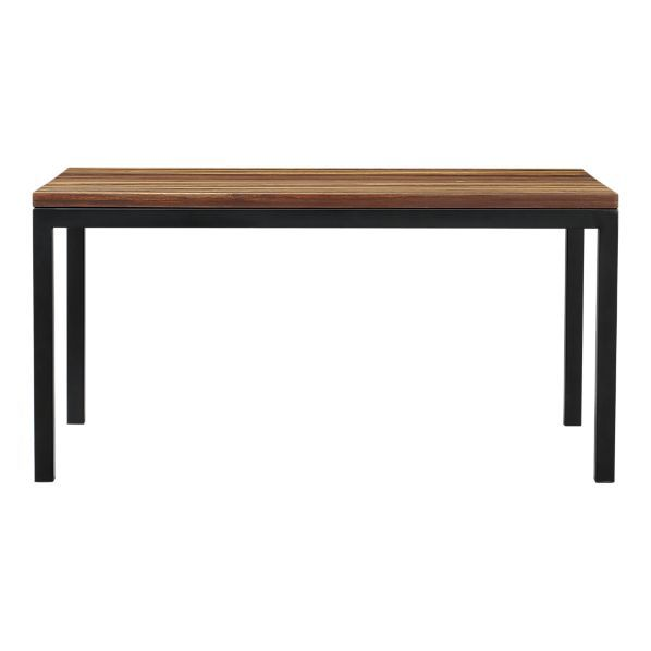 Love this dining table! Parsons Reclaimed Wood Top from Crate & Barrel
