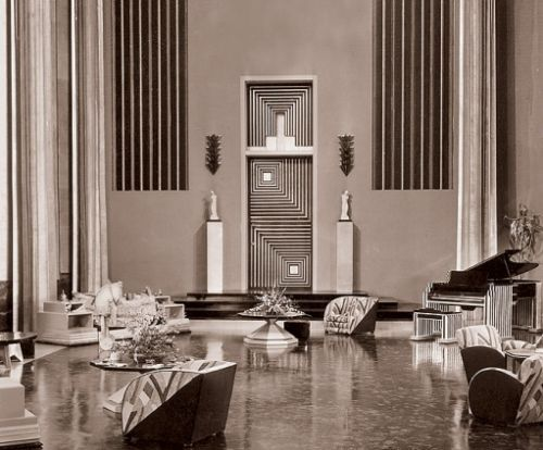Designing Films: The Art Déco Years | Art deco, Movie and Room