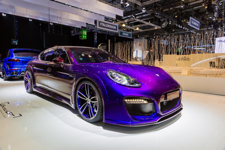 2016 Porsche Panamera Grand GT от атеРье TechArt 2016MY Panamera Porsche Techart