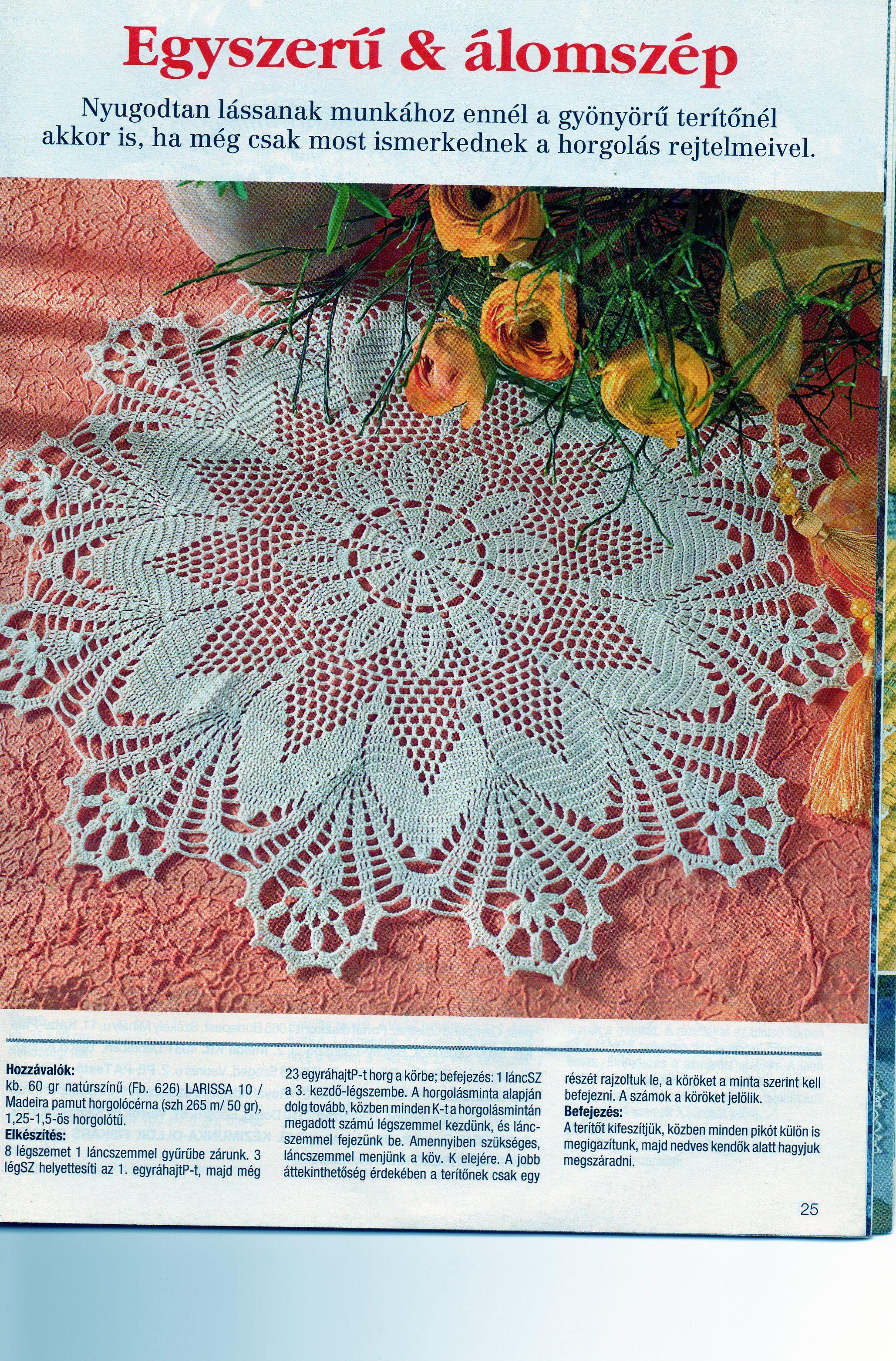 Lotus crochet doily image | Crochet & Amigurumi Corner - Community ...