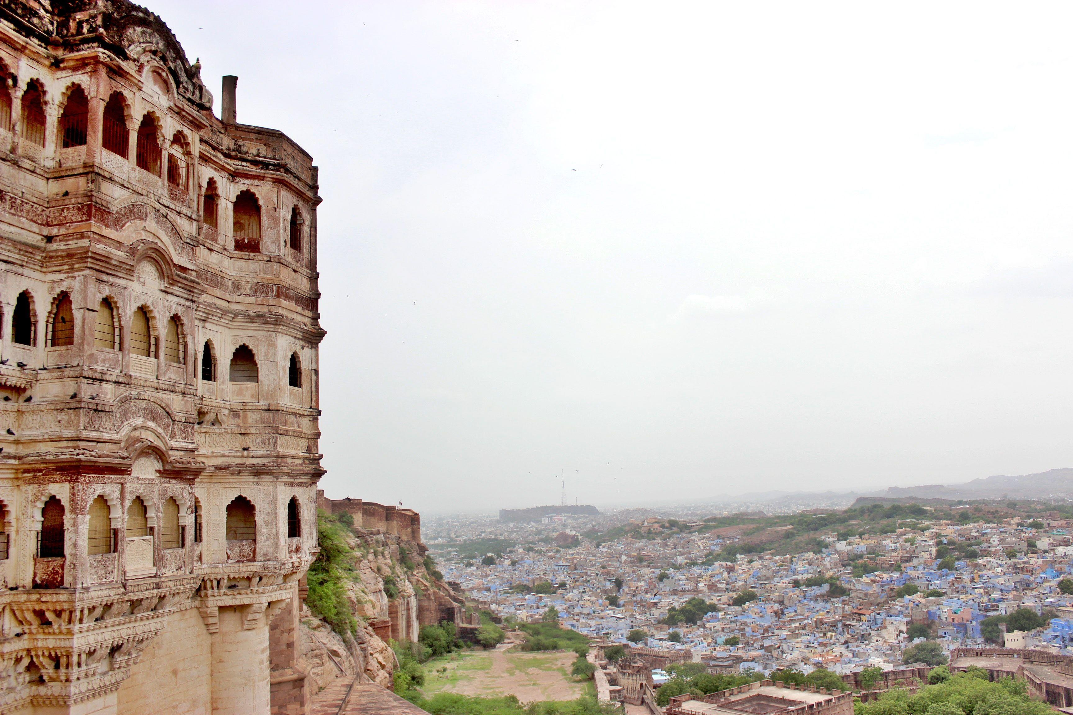 Mehrangarh #Fort #Jodhpur #Rajasthan City view from