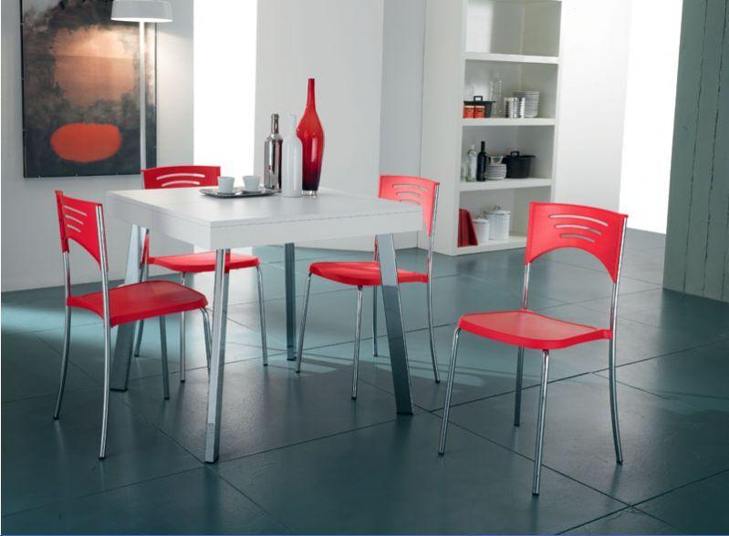 Sedia Break 014 sedie moderne sedute | Tavolo quadrato