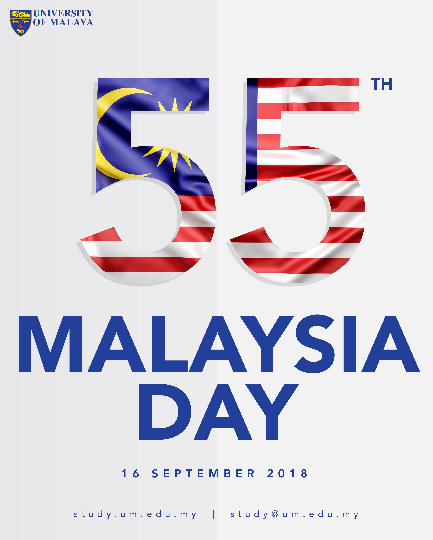 Happy 55th MALAYSIA DAY! 😁😁😁😁 studyatum studyunimalaya
