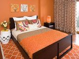 Organic Contemporary with Whimsical Pops - contemporary - bedroom - san francisco - by Lisa Benbow - Garnish Designs