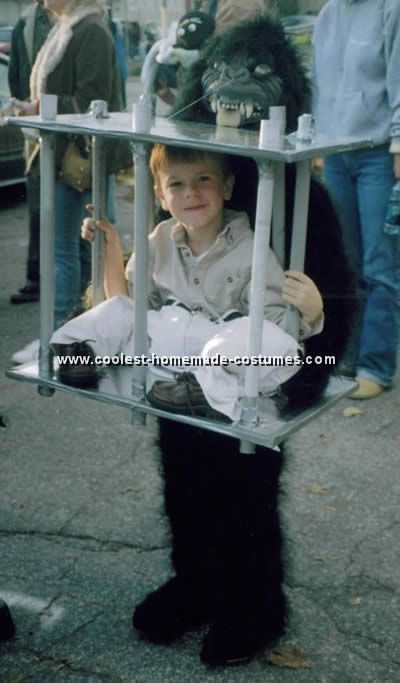 Optical Illusions - Funny Halloween Costume Ideas  sc 1 st  Pinterest & Coolest Homemade Cage Illusion Costume Ideas and Photos | Funny ...