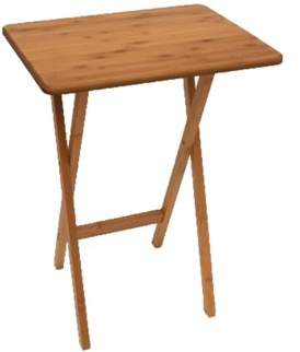 lipper 803 foldable bamboo rectangular snack table dinner tray rh pinterest com