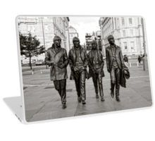 The Beatles in Black and white on Laptop Skins, mobile phone covers, ipad covers, home decor, gifts and accessories by Karen Cross of Kciphoto
