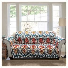 turquoise rust jaipur ikat furniture protectors sofa slipcover rh pinterest com