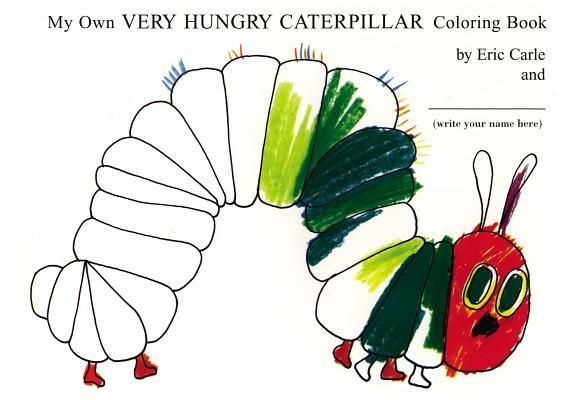 Caterpillar Coloring Pages Printable Preschool   Hungry Caterpillar ...