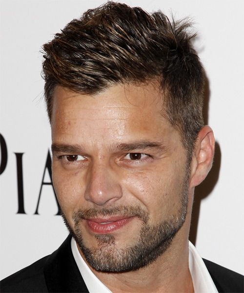 Side View 1 Ricky Martin Hair Styles Martin Short