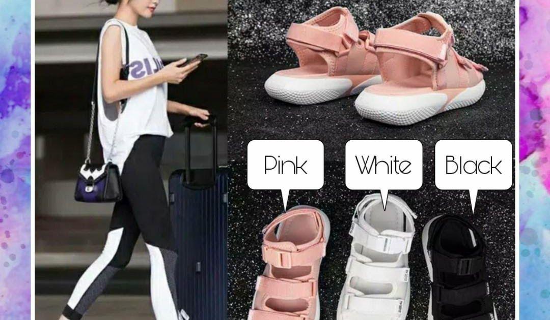 Sandal Wanita Import Terbaru Di 2020 Wanita Sepatu Kets Sepatu