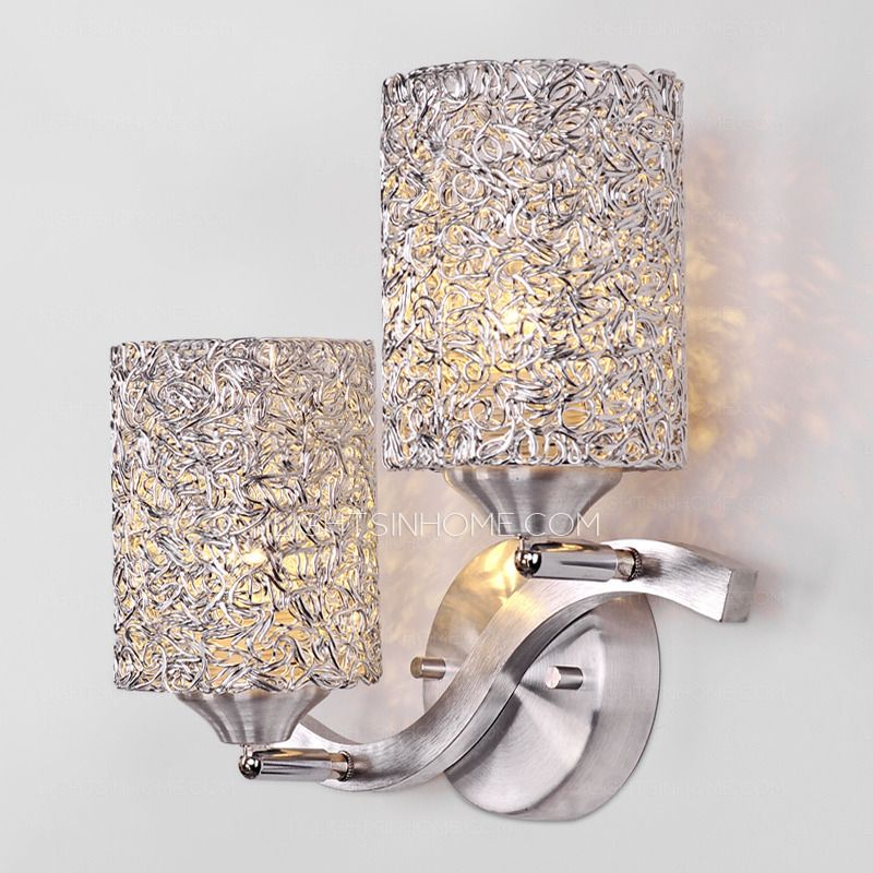 Awesome 2 Light Luxury Style Decorative Wall Sconces For Bedroom