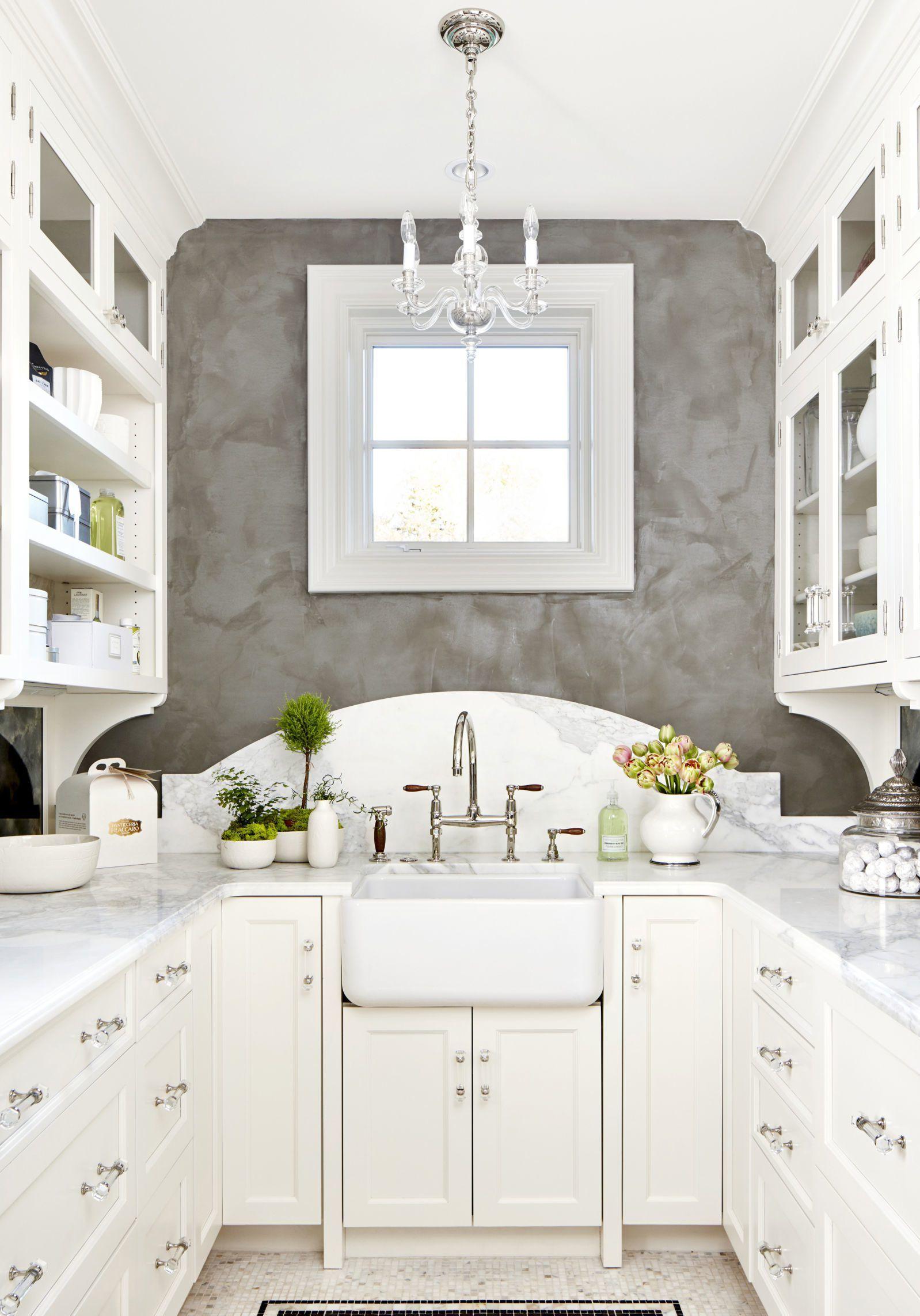White galley kitchen small kitchen ideas Home Decor Ideas in