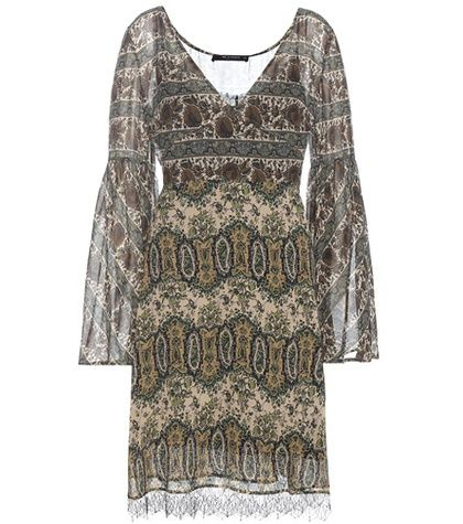 Buy it now. Printed Silk Dress. Green And Beige Printed Silk Dress By Etro , vestidoinformal, casual, camiseta, playeros, informales, túnica, estilocamiseta, camisola, vestidodealgodón, vestidosdealgodón, verano, informal, playa, playero, capa, capas, vestidobabydoll, camisole, túnica, shift, pleat, pleated, drape, t-shape, daisy, foldedshoulder, summer, loosefit, tunictop, swing, day, offtheshoulder, smock, print, printed, tea, babydolldress, dolldress, tunic, polodress, pansybow, sundre...